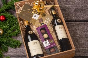 Wein-Geschenkpakete zu Weihnachten